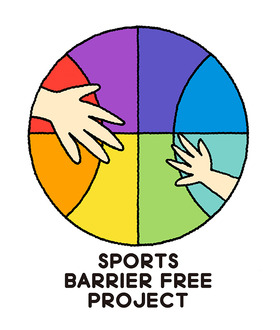 SPORTS BARRIER FREE PROJECT | LOGO