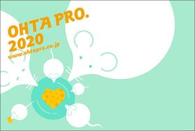 Ohta Production | 2020 Post Card